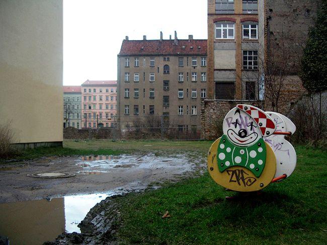 Spielplatz, Greifswalder Strasse, Prenzlauer Berg