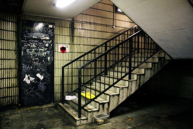 Club de boxe en sous-sol