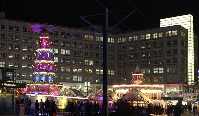 Alexanderplatz Weihnachtsmarkt
