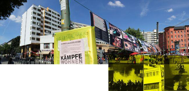 Exposition de soutien aux révoltés de la Place Taksim, Kottbusser Tor, Kreuzberg