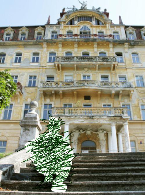 Ancien hôtel 'King of England', Marienbad (Mariánské Lázně)
