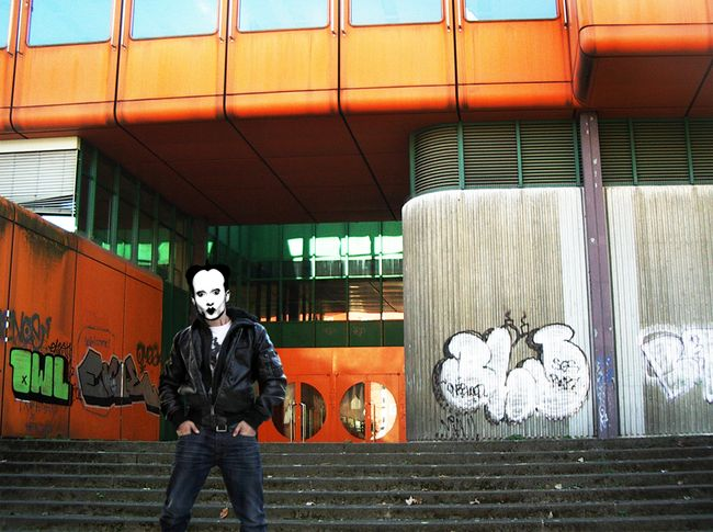 Klaus Nomi at secondary school