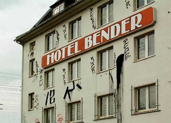 Derelict hotel in Dortmund
