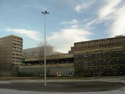 Car park, Karl-Liebknecht-Strasse