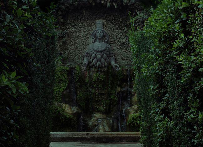 Diane d'Éphèse, jardins de la Villa d'Este, Tivoli